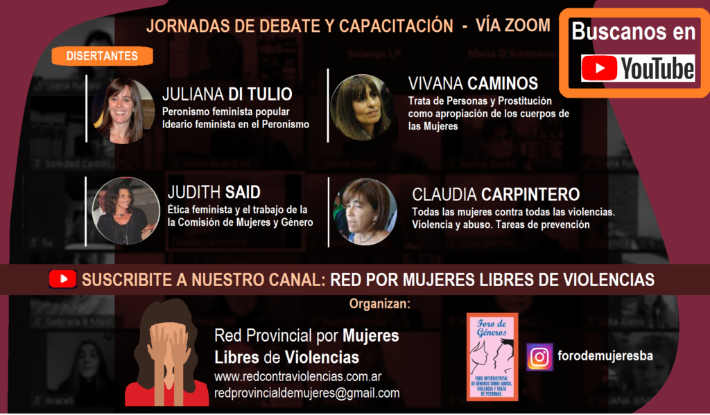 jORNADA DE DEBATE youtube